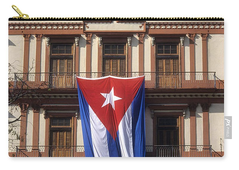Cuba Carry-all Pouch featuring the photograph Partagas Cigar Factory by James Brunker