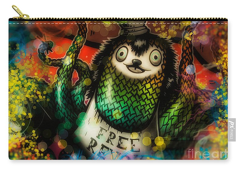 Party Photos Carry-all Pouch featuring the photograph Party Time by Justyna JBJart