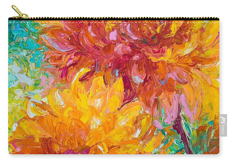 Oil Carry-all Pouch featuring the painting Passion by Talya Johnson