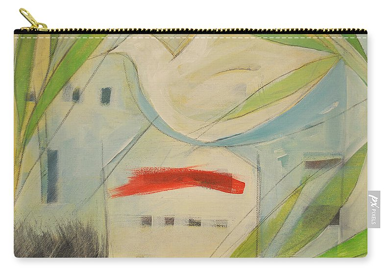 Judaism Carry-all Pouch featuring the painting Passover by Tim Nyberg