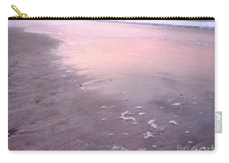 Landscape Carry-all Pouch featuring the photograph Pastel Beach by Todd Blanchard