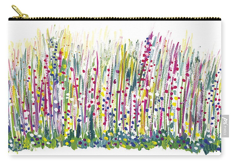 Spring Carry-all Pouch featuring the painting Pastel by Bjorn Sjogren