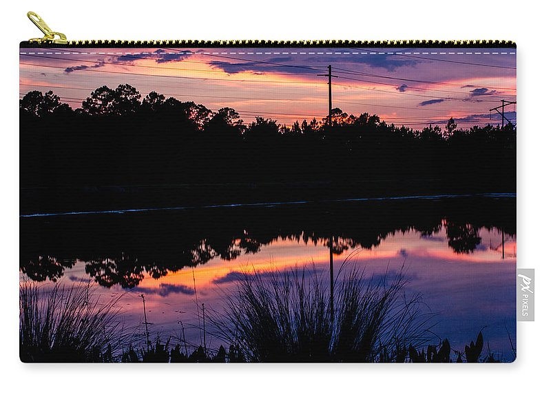 Carry-all Pouch featuring the photograph Pastels by Tyson Kinnison