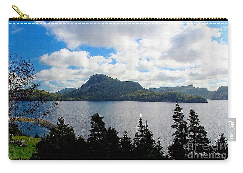 Pastoral Scene By The Ocean Carry-all Pouch featuring the photograph Pastoral Scene By The Ocean by Barbara Griffin