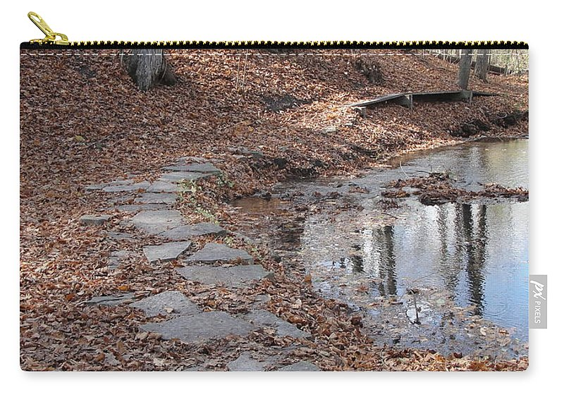 Path Carry-all Pouch featuring the photograph Path To Somewhere by Tiffany Erdman