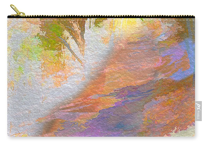 Pathway Carry-all Pouch featuring the photograph Path To Sunset Rock by Frank Bright