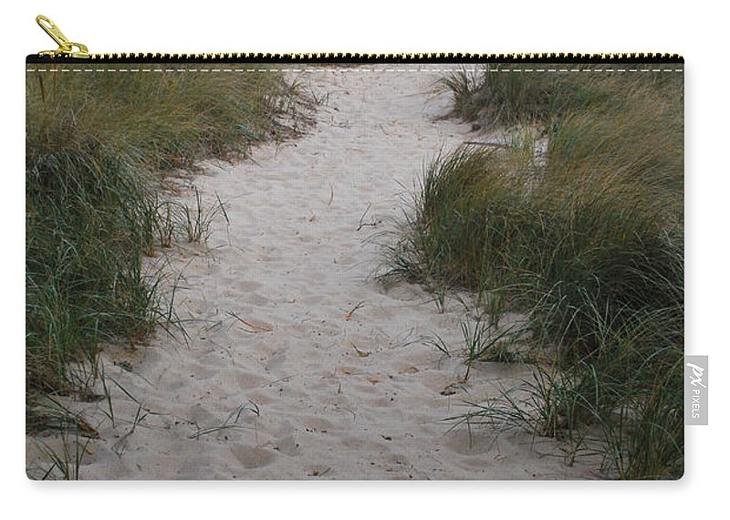 Path Carry-all Pouch featuring the photograph Path To The Dunes by Pat Lucas
