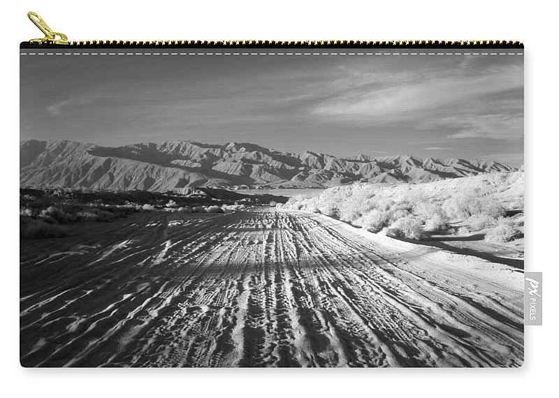 Carry-all Pouch featuring the photograph Path To The Point. by Jennifer Ann Henry