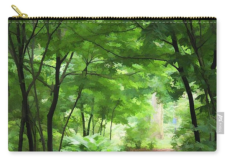 Nature Carry-all Pouch featuring the photograph Pathway by Joyce Baldassarre