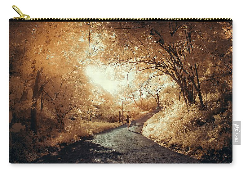 Shadow Carry-all Pouch featuring the photograph Pathway To Wonderland by D3sign
