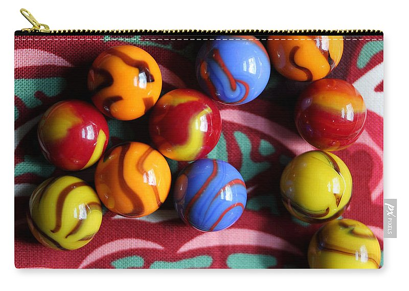 Marble Carry-all Pouch featuring the photograph Pattern Overload by Mary Bedy