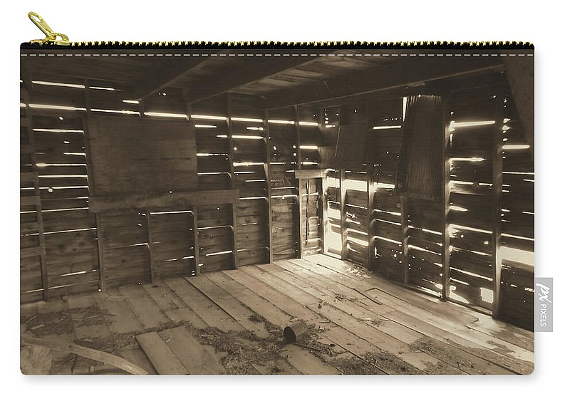 Carry-all Pouch featuring the photograph Patterns Of Light by Cathy Anderson