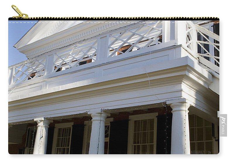 Pavilion Vi Carry-all Pouch featuring the photograph Pavillion Vi University Of Virginia by Jason O Watson