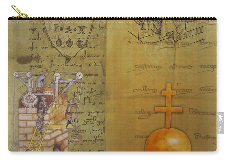 Religion Carry-all Pouch featuring the photograph Pax by Ivan Slosar