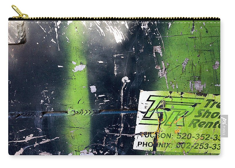 Evergreen Carry-all Pouch featuring the photograph Pc 85 by Marlene Burns
