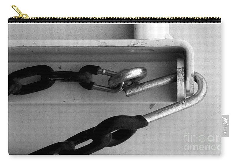 Black And White Photography Carry-all Pouch featuring the photograph Pc63 by Marlene Burns