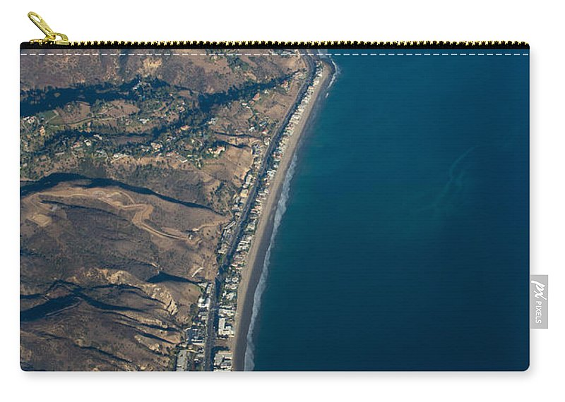 Pch Carry-all Pouch featuring the photograph PCH by John Daly