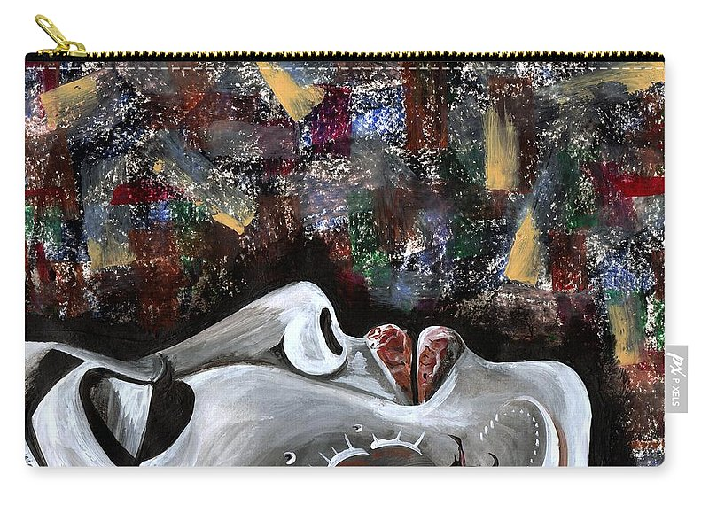 Art Carry-all Pouch featuring the photograph Peace Amidst Turmoil by Artist RiA