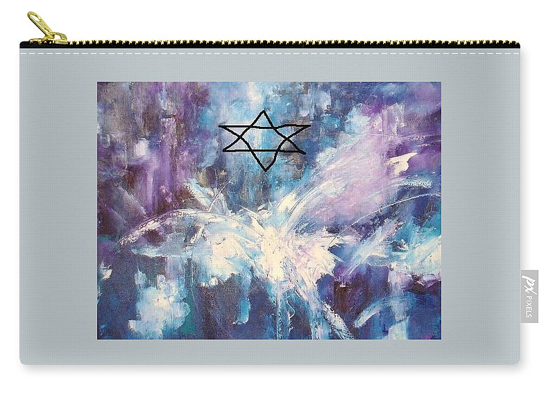 Dove Carry-all Pouch featuring the painting Peace by Lord Frederick Lyle Morris - Disabled Veteran