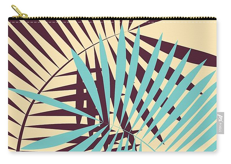 Palm Carry-all Pouch featuring the digital art Peace Of Mind by Freshinkstain