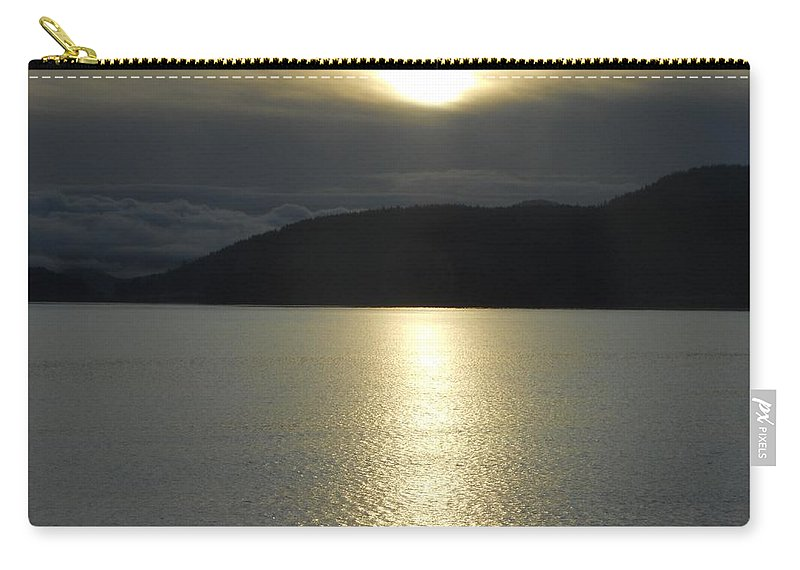 Ocean Carry-all Pouch featuring the photograph Peace On The Water by Coleen Harty