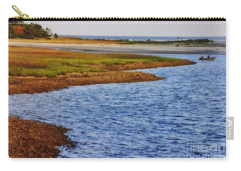 Boat Carry-all Pouch featuring the photograph Peaceful Afternoon by Lydia Holly