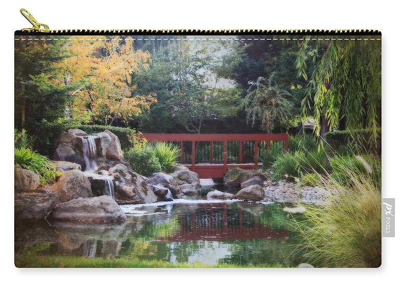Landscape Carry-all Pouch featuring the photograph Peaceful Dreams by Laurie Search