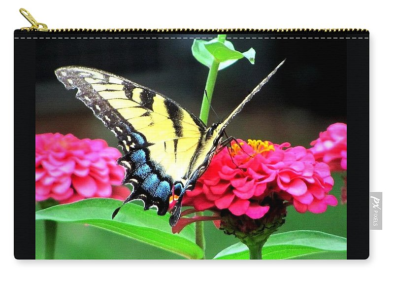 Butterflies Carry-all Pouch featuring the photograph Peaceful Essence by Kathy R Thomas