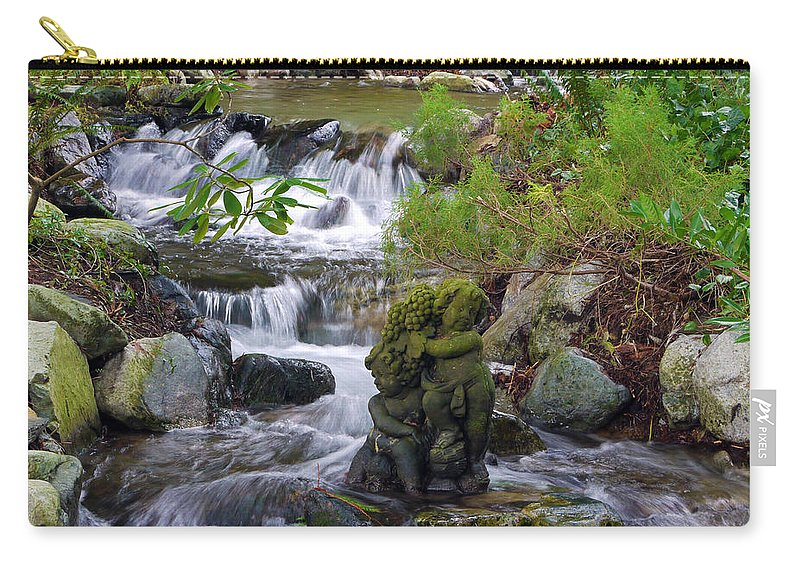 Moments That Take Your Breath Away Carry-all Pouch featuring the photograph Moments That Take Your Breath Away by Jordan Blackstone