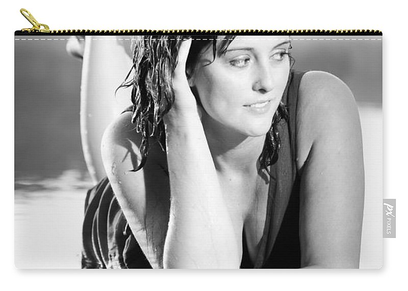Beautiful Carry-all Pouch featuring the photograph Peaceful Waters by Jh Photos