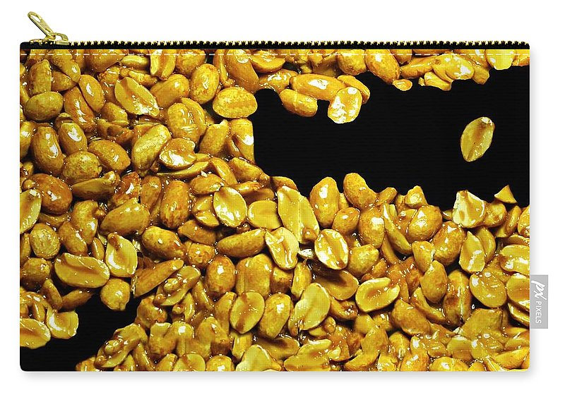 Candy Carry-all Pouch featuring the photograph Peanut Brittle by Diana Angstadt