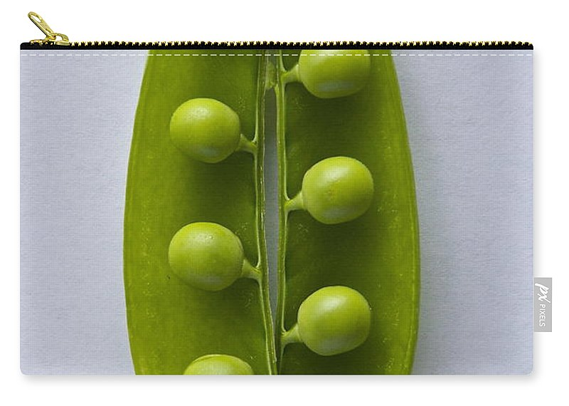 Photography Carry-all Pouch featuring the photograph Peas In A Pod 2 by Sean Griffin