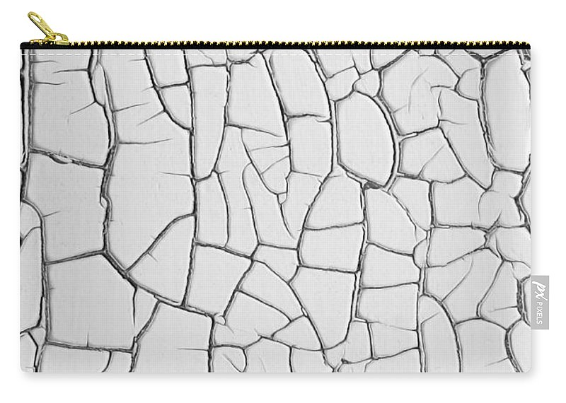 Abstract Carry-all Pouch featuring the photograph Peeling Paint Four by Barbara McMahon