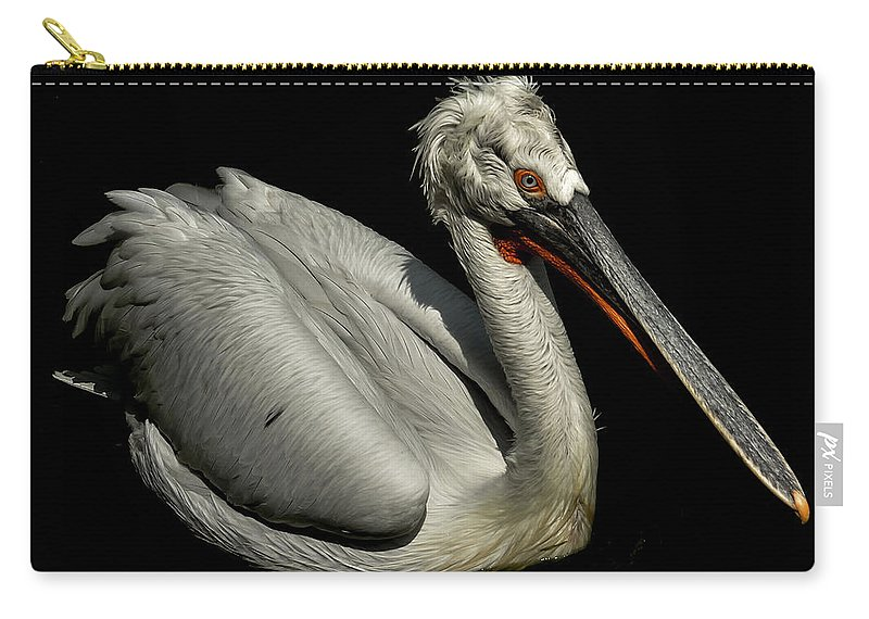 Africa Carry-all Pouch featuring the photograph Pelican by TouTouke A Y