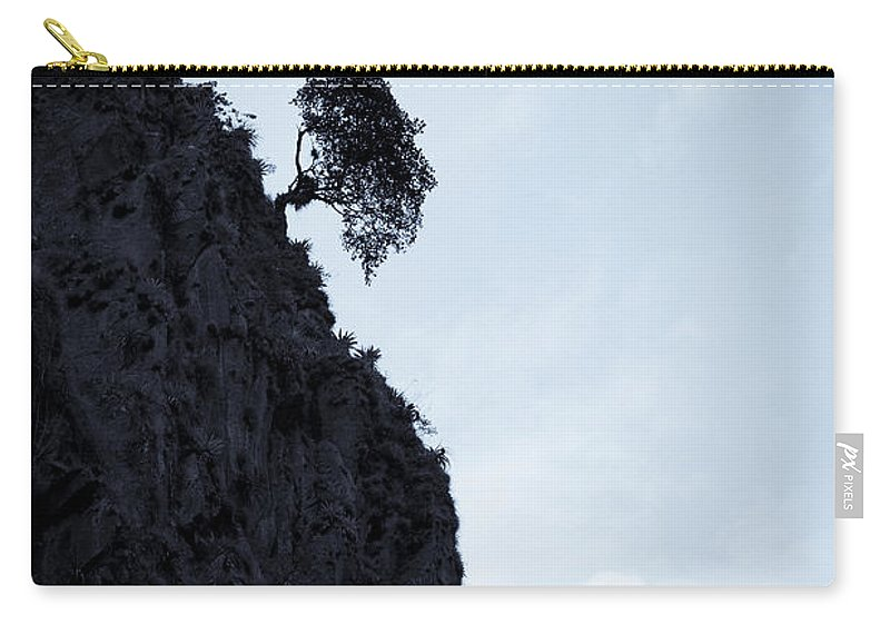Tree Carry-all Pouch featuring the photograph Persistance by Alexey Stiop