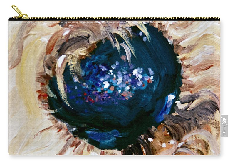 Small Carry-all Pouch featuring the painting Petite So Sweet by Sheila Wedegis