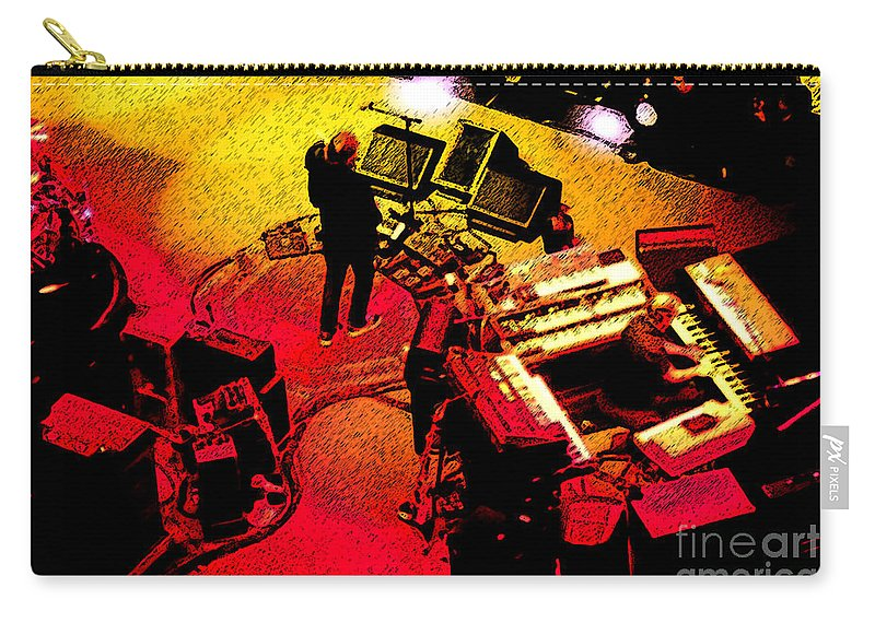 Phish Carry-all Pouch featuring the photograph Phishin At Madison Square Garden One by Kevin J Cooper Artwork
