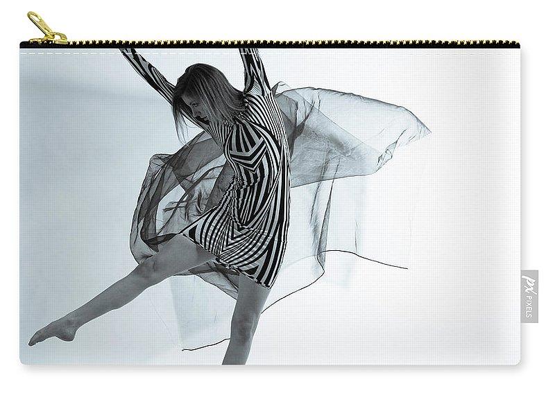 Ballet Dancer Carry-all Pouch featuring the photograph Photofusion Shoot Jan 2013 by Maya De Almeida Araujo