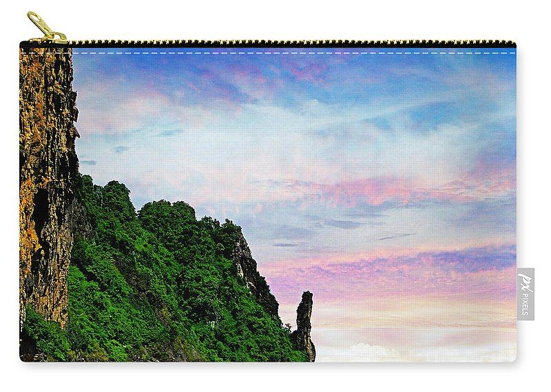 Phuket Carry-all Pouch featuring the photograph Phuket 3 by Ben Yassa