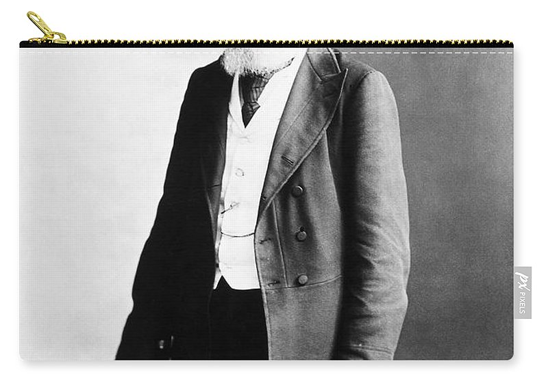 1891 Carry-all Pouch featuring the photograph Physician, 1891 by Granger