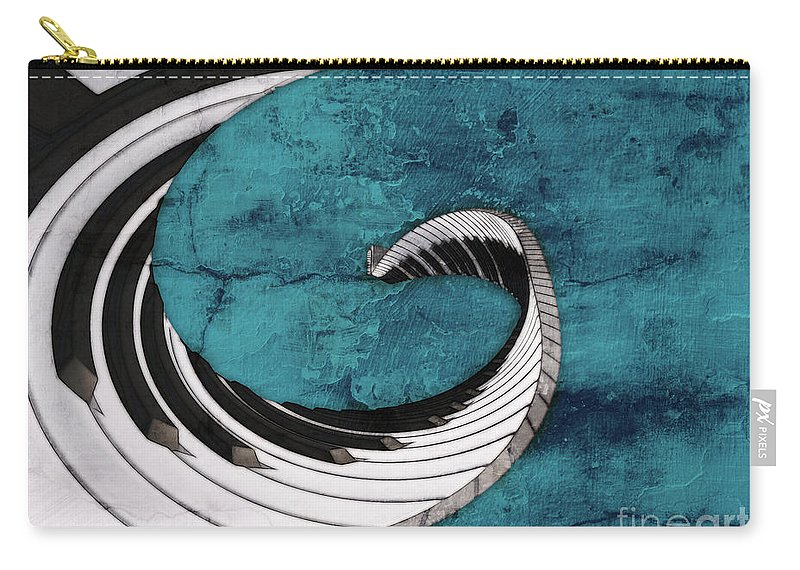 Piano Carry-all Pouch featuring the digital art Piano Fun - S02a by Variance Collections