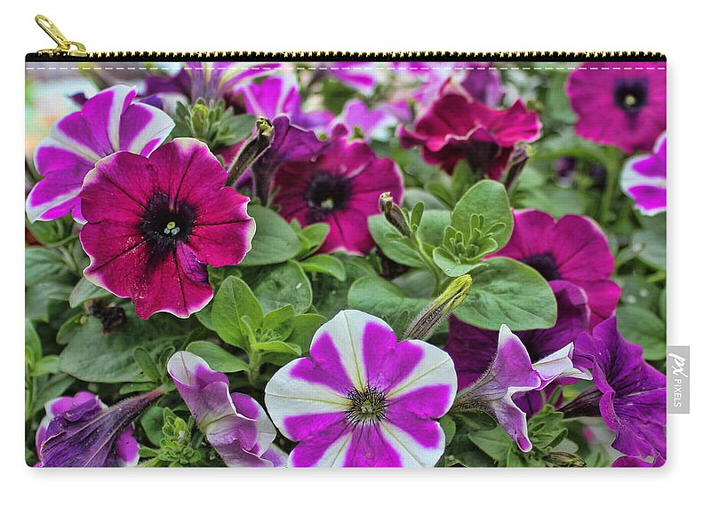 Purple Carry-all Pouch featuring the photograph Pick Purple by Sylvia Thornton