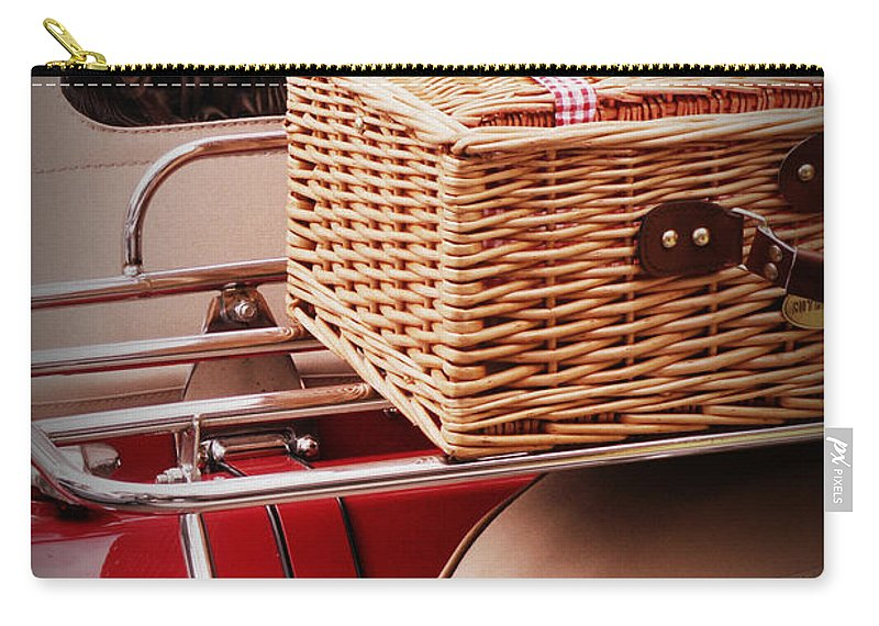 Picnic Carry-all Pouch featuring the photograph Picnic Ready by Valerie Reeves