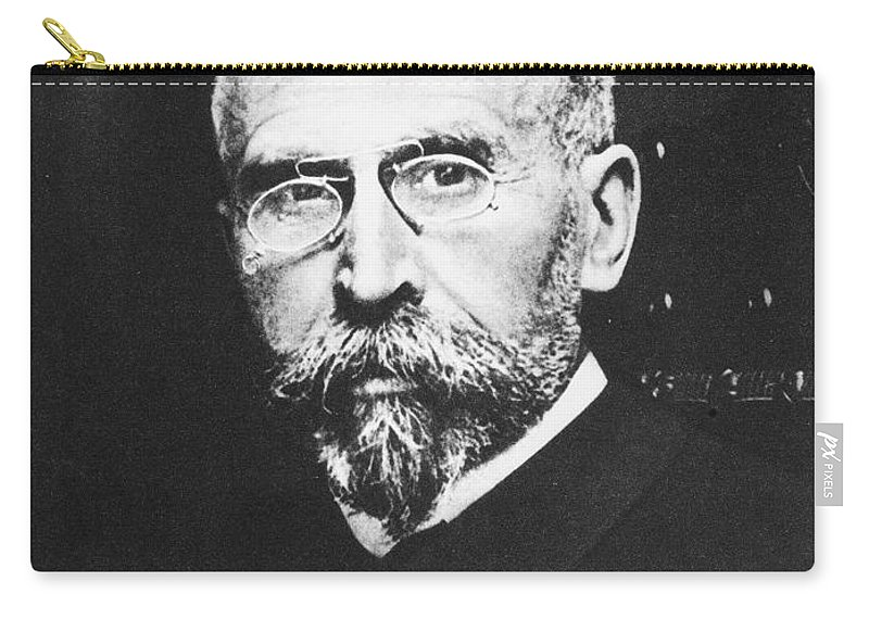 19th Century Carry-all Pouch featuring the photograph Pierre Paul Emile Roux by Granger