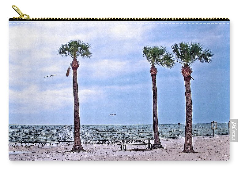 Bird Carry-all Pouch featuring the photograph Pine Island by Aimee L Maher ALM GALLERY