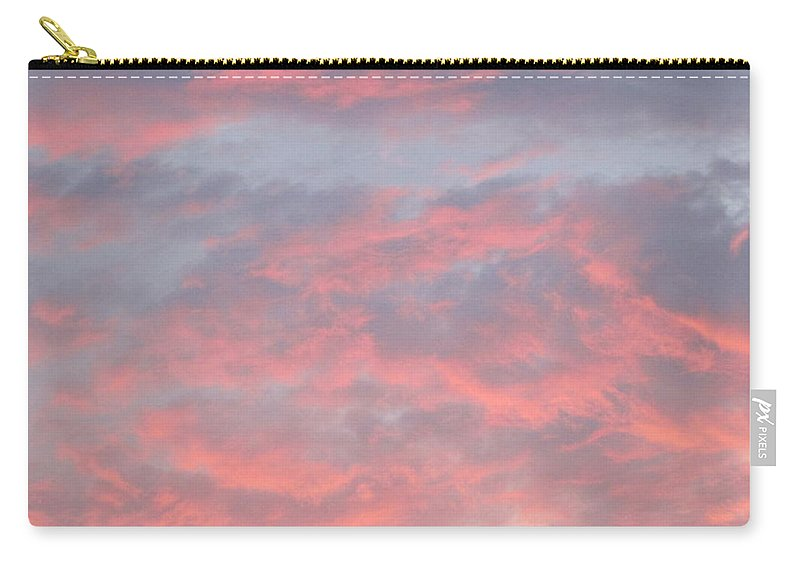Sunset Carry-all Pouch featuring the photograph Pink And Blue by Matt Blankenship