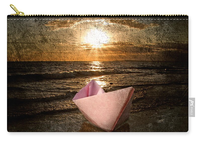 Art Carry-all Pouch featuring the photograph Pink Dreams by Stelios Kleanthous