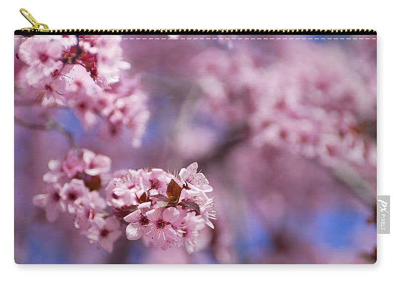 Cherry Carry-all Pouch featuring the photograph Pink by Guido Montanes Castillo