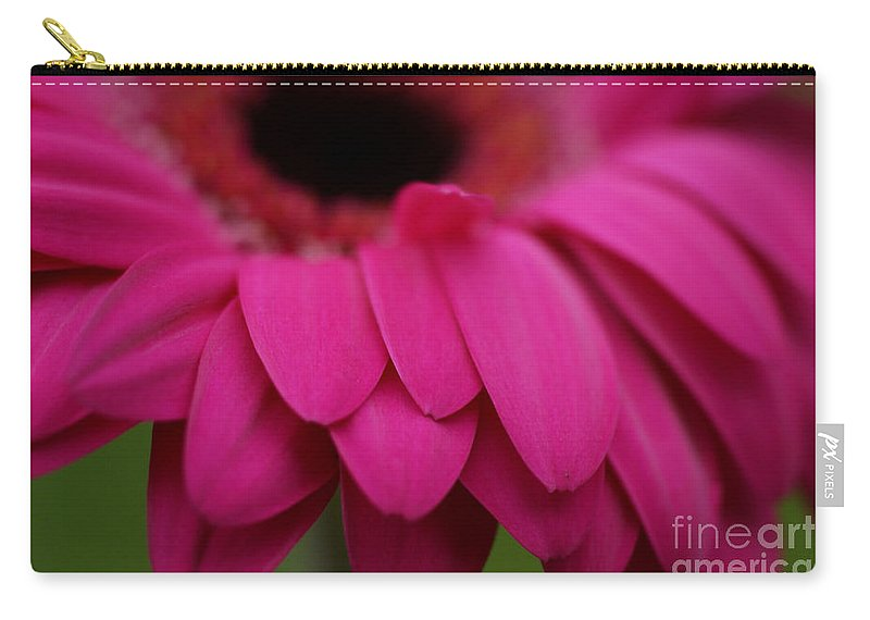 Pink Carry-all Pouch featuring the photograph Pink Petals by Carol Lynch