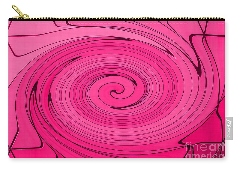Pink Carry-all Pouch featuring the photograph Pink by Steve Purnell